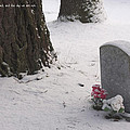 Cemetery In Winter by Mick Anderson