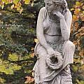 Cemetery Statue 1 by Anita Burgermeister