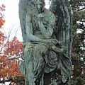Cemetery Statue 3 by Anita Burgermeister