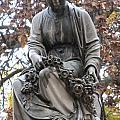 Cemetery Statue 4 by Anita Burgermeister