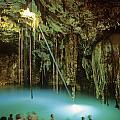 Cenote Dzitnup by Cliff Wassmann