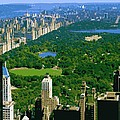 Central Park Color 16 by Scott Kelley