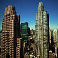 Central Park South From Above by Hal Bergman