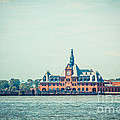 Central Railroad Terminal Of New Jersey by Hannes Cmarits
