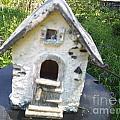 Ceramic Birdhouse by Jeannie Atwater Jordan Allen