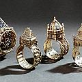 Ceremonial Marriage Rings by Granger