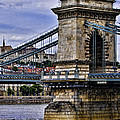Chain Bridge  Budapest by Jon Berghoff