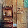 Chair By Open Door by Jill Battaglia