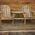 Wooden Chairs by Amy Jackson