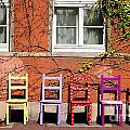 Chairs At Hamlyn by Rob Hawkins