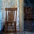 Chairs In Rundown House by Jill Battaglia