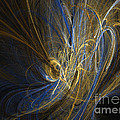 Champagne - Abstract Art by Abstract art prints by Sipo