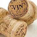 Champagne corks by Frank Tschakert