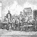 Champagne Production, 1855 by Granger