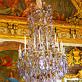 Chandelier At Versailles by Diana Haronis