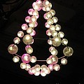 Chandelier From Pearls by Ausra Huntington nee Paulauskaite