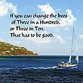 Change A Life by Gary Wonning
