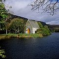 Chapel At Gougane Barra, Co Cork by The Irish Image Collection