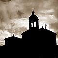 Chapel Silhouette by Gaspar Avila