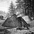 Charcoal Production, 19th Century by