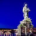 Charles Bridge Statue Of St John Of Nepomuk     by Jon Berghoff