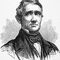 Charles Goodyear /n(1800-1860). American Inventor. Line Engraving, 19th Century by Granger