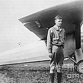 Charles Lindbergh American Aviator by Photo Researchers