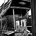 Charles W Morgan Hays  And Ros Clark Ship-lift  by Michael Ray
