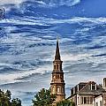 Charleston Church Steeple by Steve Nelson