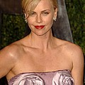 Charlize Theron Wearing A Dior Haute by Everett
