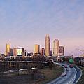 Charlotte Skyline At Sunrise by Jeremy Woodhouse