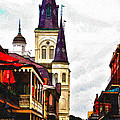 Chartres Street - New Orleans by Bill Cannon