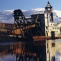 Chatanika Gold Dredge, Alaska by Alan Sirulnikoff