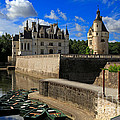 Chateau Chenonceau Loire Valley by Louise Heusinkveld