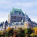Chateau Frontenac by Axiom Photographic