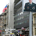 Check Point Charlie Berlin Germany by Eva Kaufman