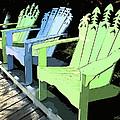 Cheerful Adirondacks by Michelle Wiarda