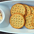 Cheese And Crackers by Barbara Griffin