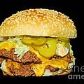 Cheeseburger by Cindy Manero