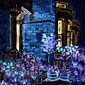Chelsea Row At Night by Paula Ayers