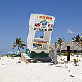 Chen Rio Beach Bar Cozumel Mexico by Shawn O'Brien