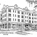 Cherokee Hotel by Audrey Peaty