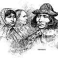 Cherokee Tribe. Engraved Portraits by Everett