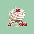 Cherry Cream by Shirley Radebach