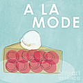 Cherry Pie A La Mode by Linda Woods