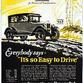 Chevrolet Ad, 1926 by Granger