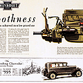 Chevrolet Ad, 1929 by Granger