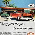 Chevrolet Ad, 1957 by Granger