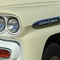 Chevrolet Apache 31 Fleetline Headlight Emblem by Jill Reger