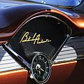 Chevrolet Belair Dashboard Clock And Emblem by Jill Reger